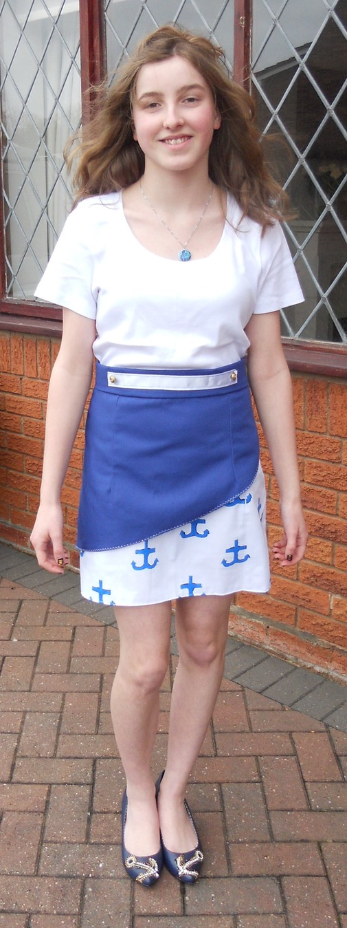 Skirt being modelled